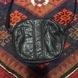 Stone Mountain black crossbody purse